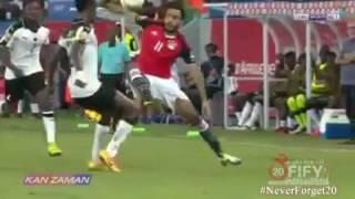 ملخص مباراة مصر وغانا