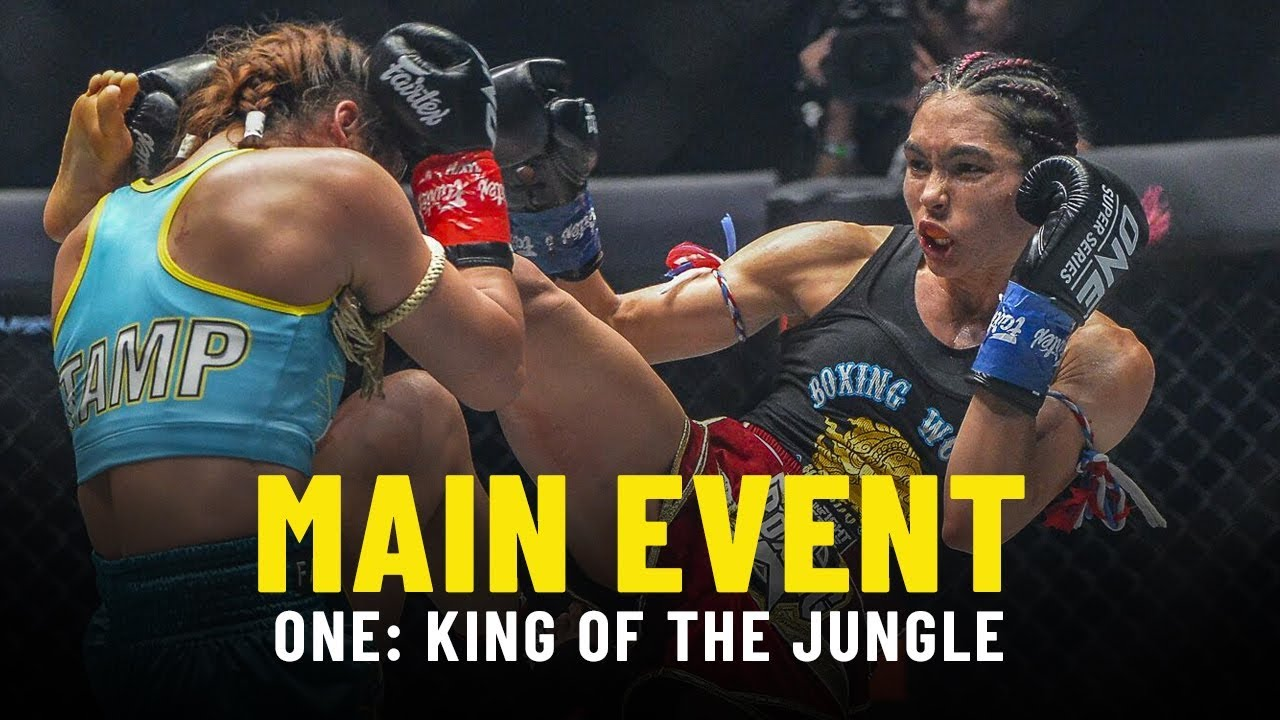 Stamp Fairtex vs. Janet Todd 2 | ONE: KING OF THE JUNGLE Main Event Highlights