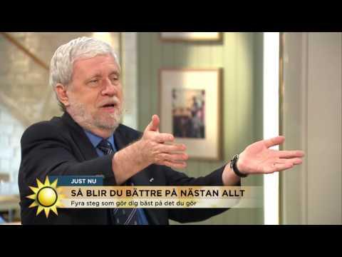 Forskarens 4 steg som gör dig bäst på det du gör - Nyhetsmorgon (TV4)