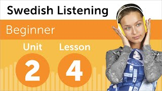 Swedish Listening Practice - Talking About Your Schedule in Swedish