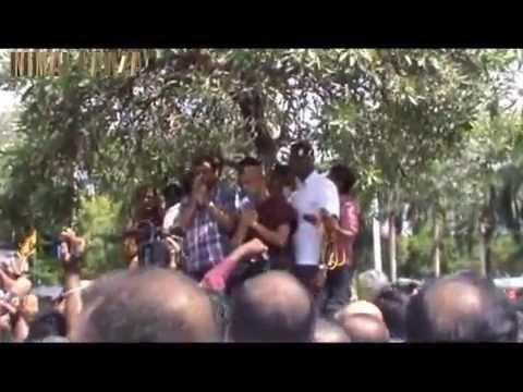 The Honorable MP Basil Rajapaksa Arrival to Sri Lanka