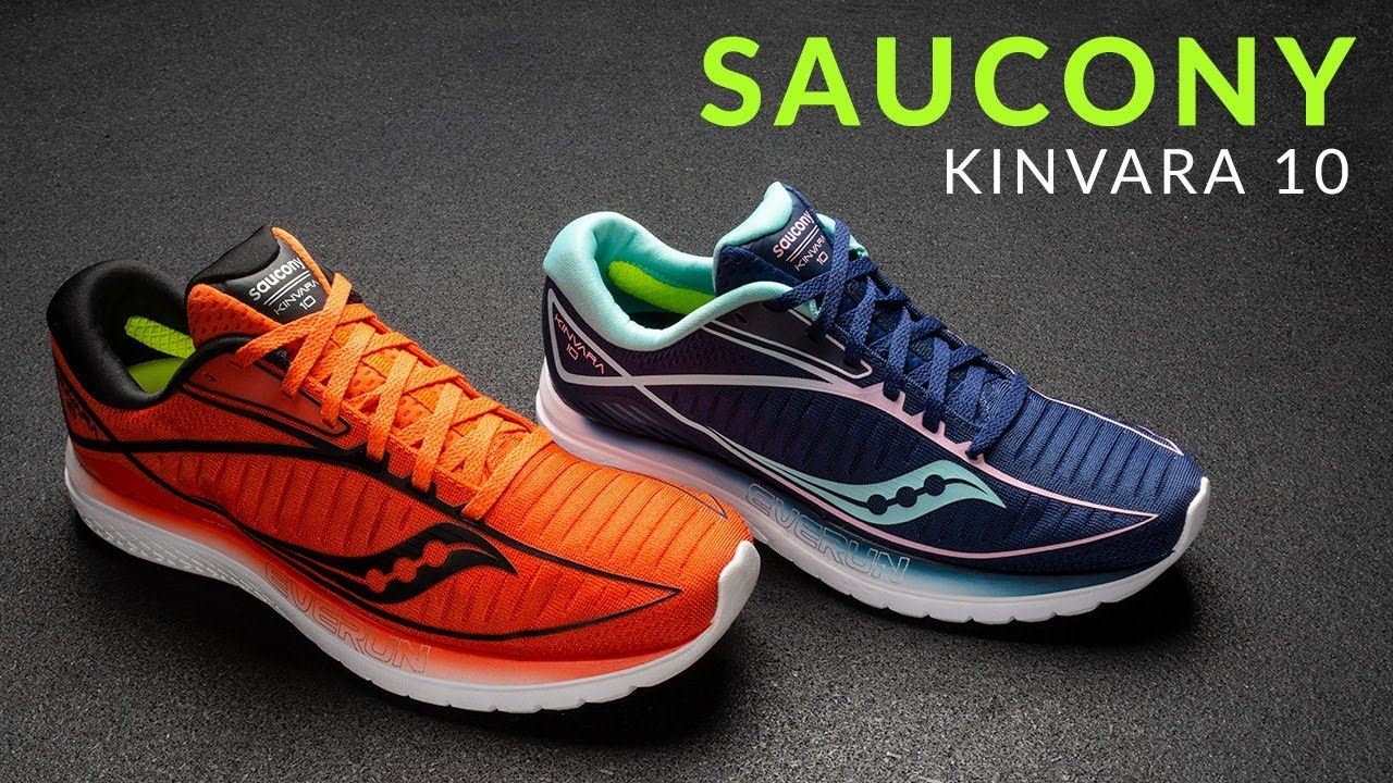 fa1058ede Saucony Kinvara 10 - Running Shoe Overview - YouTube