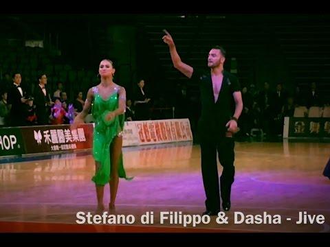 Stefano di Filippo & Dasha - Jive, Asian Tour 2017, Taipei