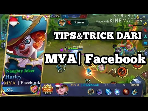 TUTORIAL BUILD HARLEY (tips&trick top global) - MOBILE LEGENDS