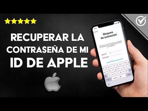 Cómo Recuperar la Contraseña de mi ID de Apple Bloqueado, si la Olvidé, en iPhone