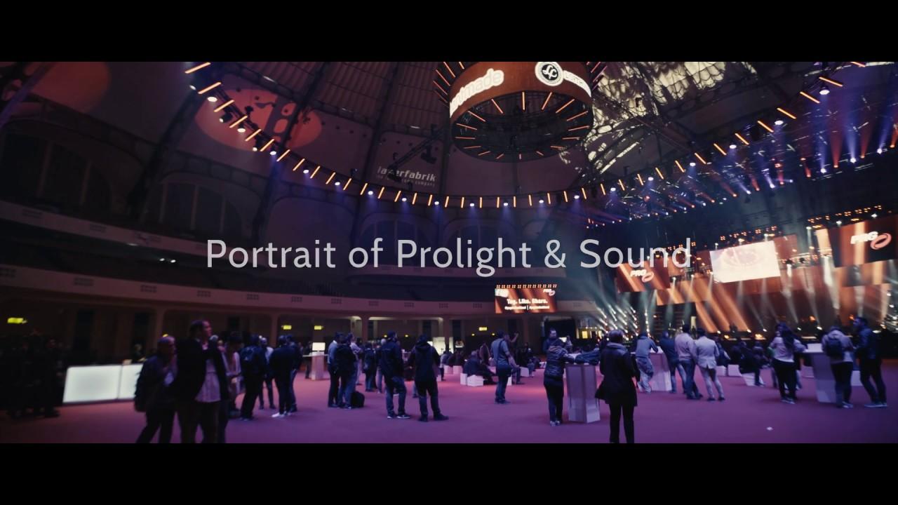 Portrait of Prolight & Sound I 2019