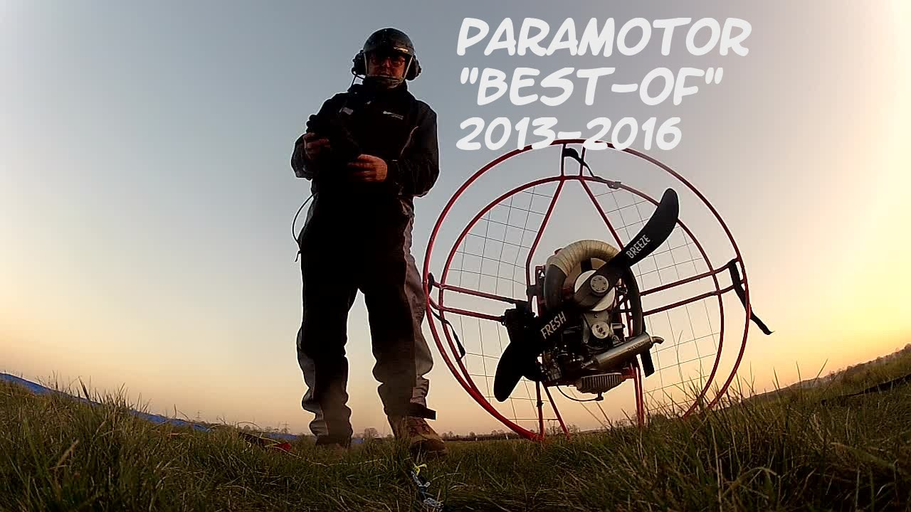 Paramotor Best of 2013-2016 - Fresh Breeze Simonini / Solo - Upgrade 3