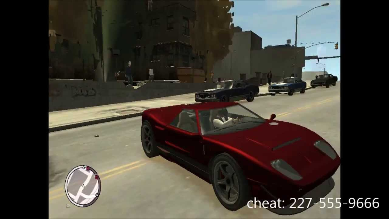 fastest <b>car cheat gta 4</b> - YouTube