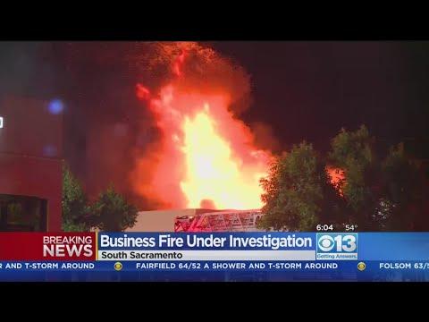 Fire Rips Through Closed South Sacramento Business