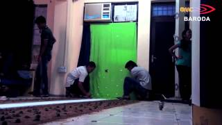 Miniature Making of road for VFX shoot