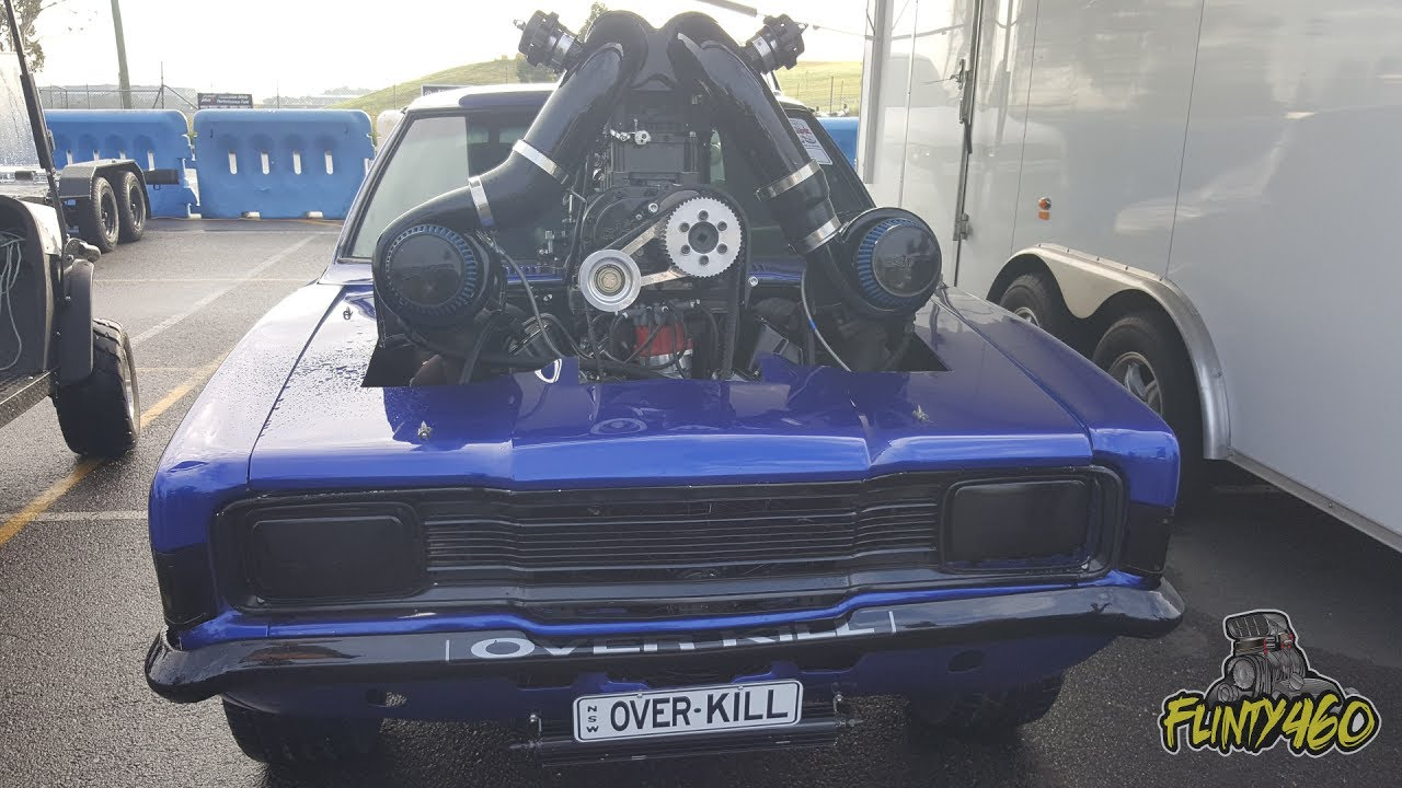 Twin Turbo Supercharged Cortina Overkill Doesn T Go To Plan At Brashernats