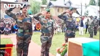 After 13 Months, Fallen Indian Army Soldier Gets Burial With Full Honours