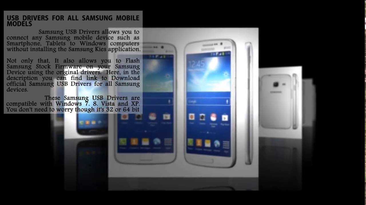 Download samsung mobile usb drivers for all models free 2016.