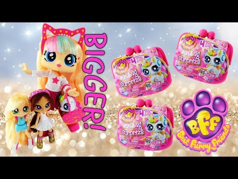 Best Furry Friends BFF Bestie Big Doll and Handbag Surprise