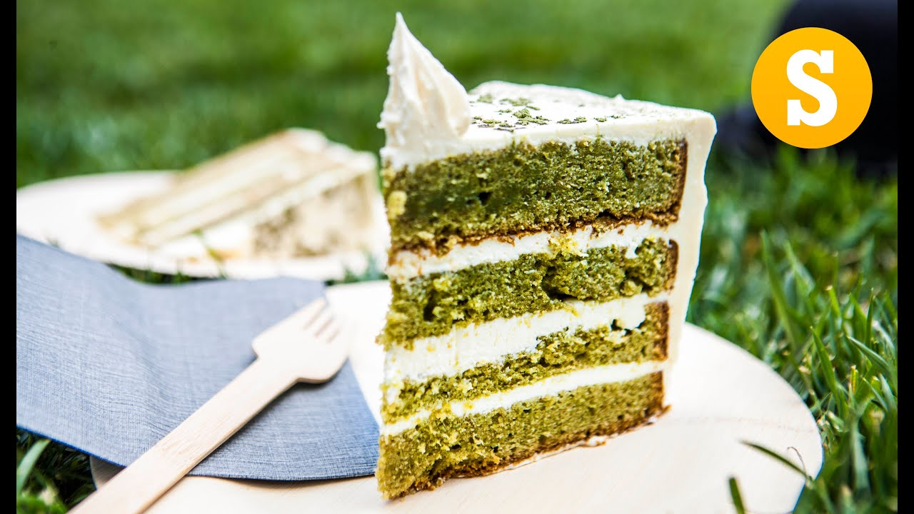 Green Matcha and White Chocolate Cake #CelebrateWithSORTED #Ad - YouTube