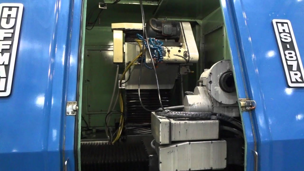 Huffman 7 Axis Cnc T C Grinder