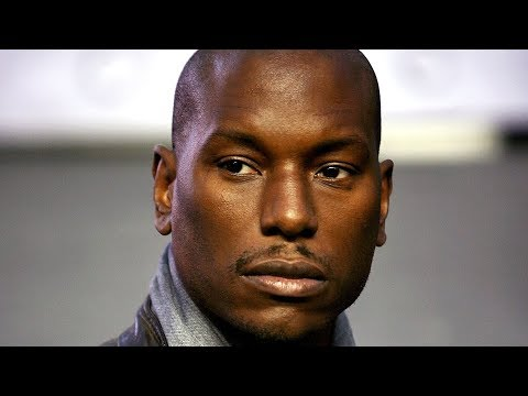 Tyrese's Reason For Being Broke Revealed!!