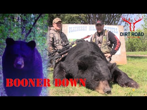 Hunting Big Saskatchewan Black Bear(BOONER DOWN)