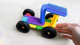 Трактор из конструктора. Игрушечные машинки - игрушки для детей(Дети любят мультики про трактор, а давайте его соберем из конструктора. Учим детали машин и трактора, собир..., 2014-10-14T13:35:36.000Z)