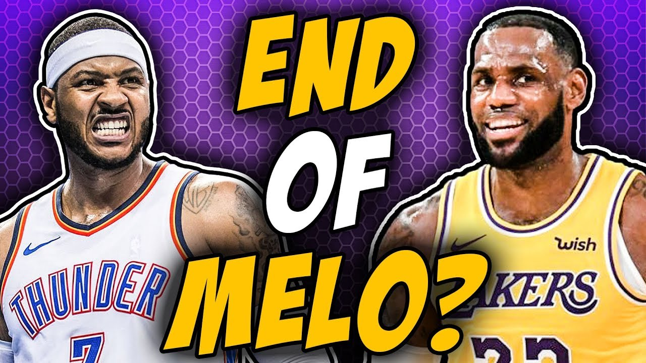 76b9300d4823 REPORT  LeBron Wants Lakers To Sign Carmelo Anthony - YouTube