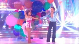 Pasha Kovalev & Chelsee Healey -- Samba (Training, Dance & Scores)
