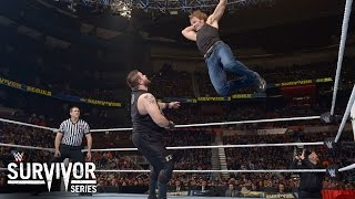 WWE Network: Ambrose vs. Owens - WWE World Heavyweight Title Semifinal: WWE Survivor Series