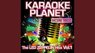 Immigrant Song (Karaoke Version In the Art of Led Zeppelin)