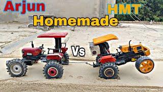 Arjun 4by4 Vs HMT 5022 Tractor model Tochan by Mr.Pendu jatt