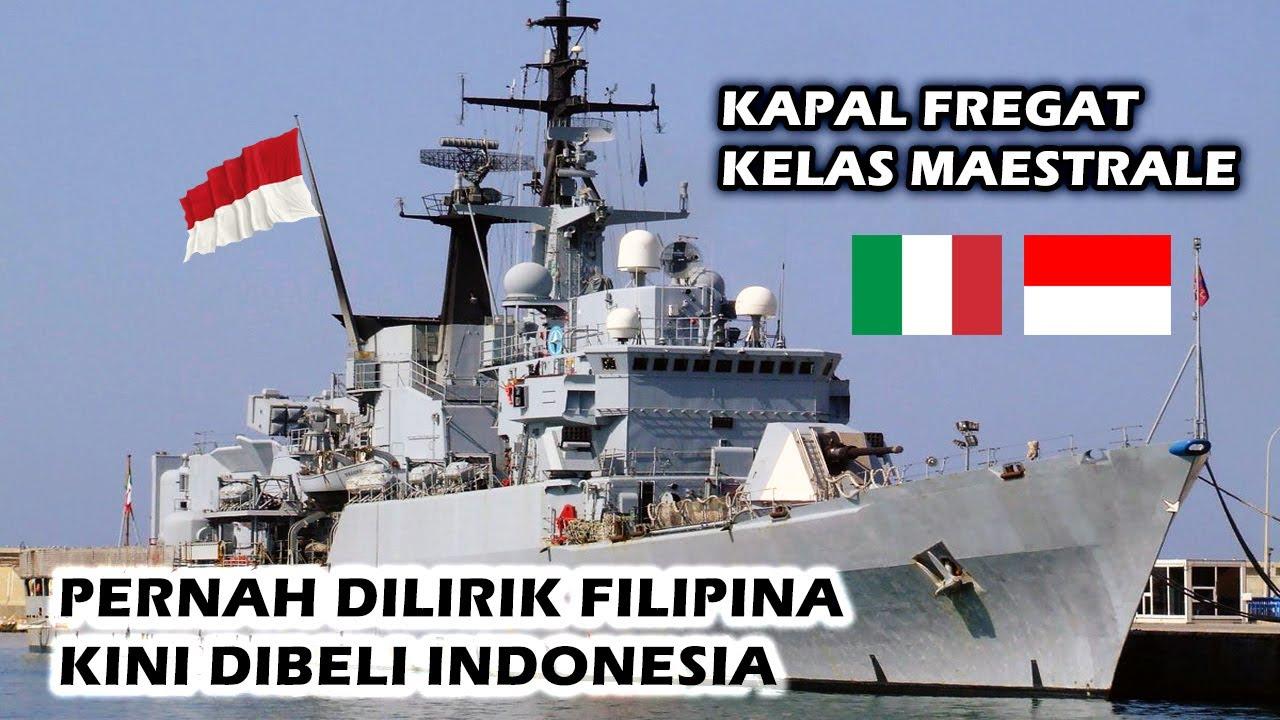 WOW!! INI DIA KEUNGGULAN KAPAL FRIGATE KELAS MAESTRALE YANG AKAN DIBELI OLEH INDONESIA