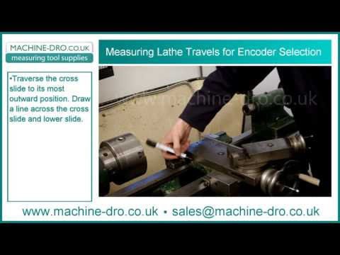 How to Measure Lathe Cross Slide and Carriage Travels