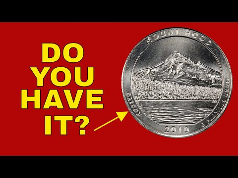 How Valuable Can A 2010 Quarter Be? Mount Hood Quarter You Should Know About!