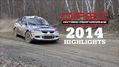 Ontario Performance Rally Championship 2014 Highlights