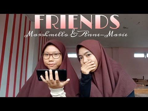 Marshmello & Anne-Marie - FRIENDS [Cover By : Shafira Mutmainnah & Andi Sukriyah]