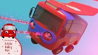 Детские песни | Детские мультики | супергерой автобус | ABCs 123s | Little Baby bum