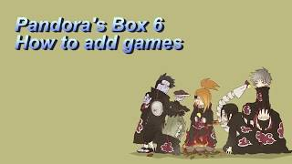 Pandora Box 6 User add game tutorial can add extra 3000 games support FBA MAME PS1 game