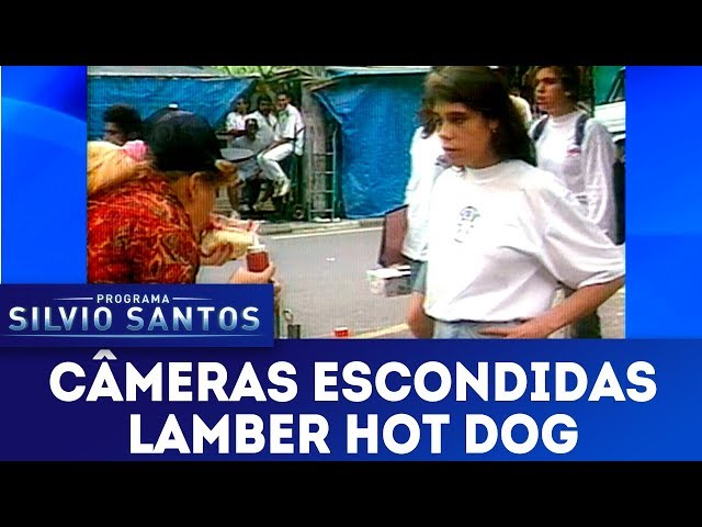 Lamber Hot Dog | Câmeras Escondidas (20/01/19)