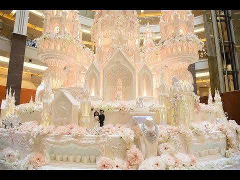largest wedding cake the and the grandest wedding cake in indonesia 16707