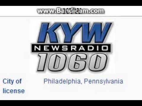 KYW Newsradio 1060 Philadelphia, PA TOTH ID at 10:00 p.m. 10/18/2014