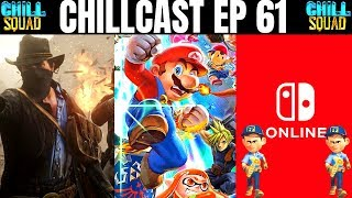 The Chillcast Ep 61 - Violent Gaming Discussion  Smash Bros Scholarships  Switch Online