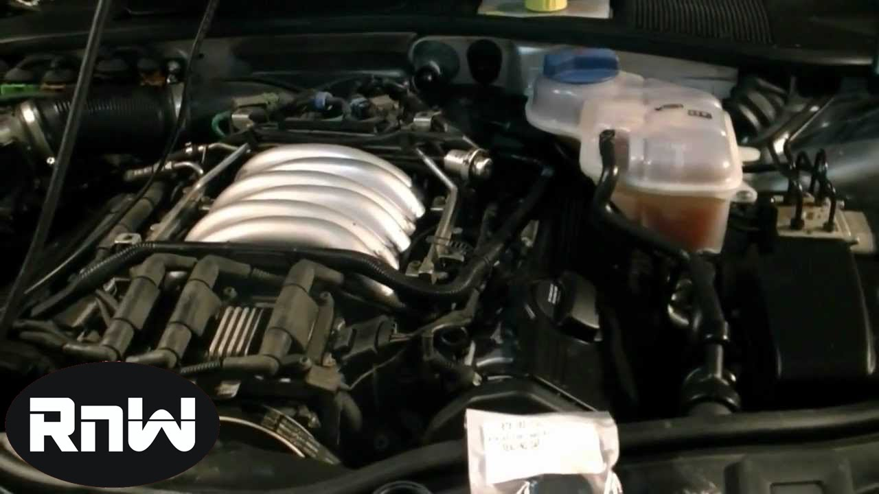 small resolution of valve cover gasket camshaft seal and cap replacement vw 2 8l youtubepassat v6 engine diagram