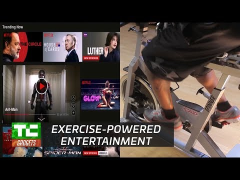 Cycflix makes you workout for your Netflix