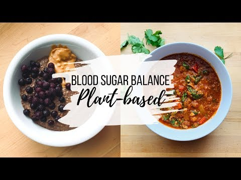 WHAT I EAT IN A DAY Balancing Blood Sugar