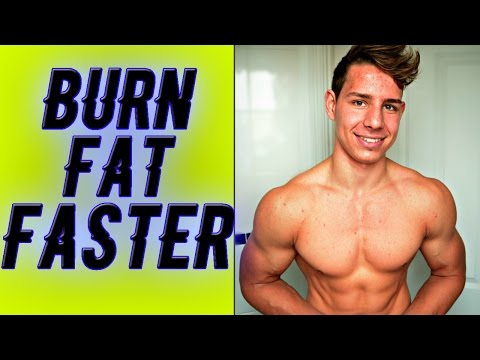 How To Burn Fat Faster (MEN, WOMEN AND TEENAGERS)