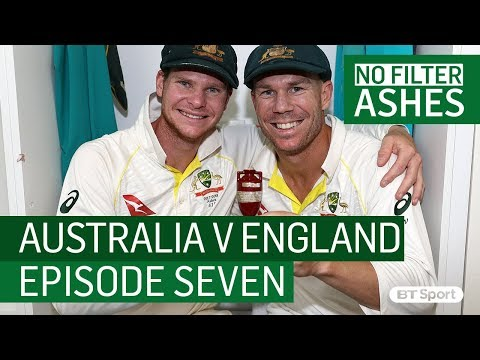 No Filter Ashes: Episode 7 - Access all areas as Australia WIN the Ashes in Perth!