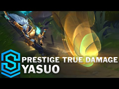 Prestige True Damage Yasuo Skin Spotlight - League of Legends