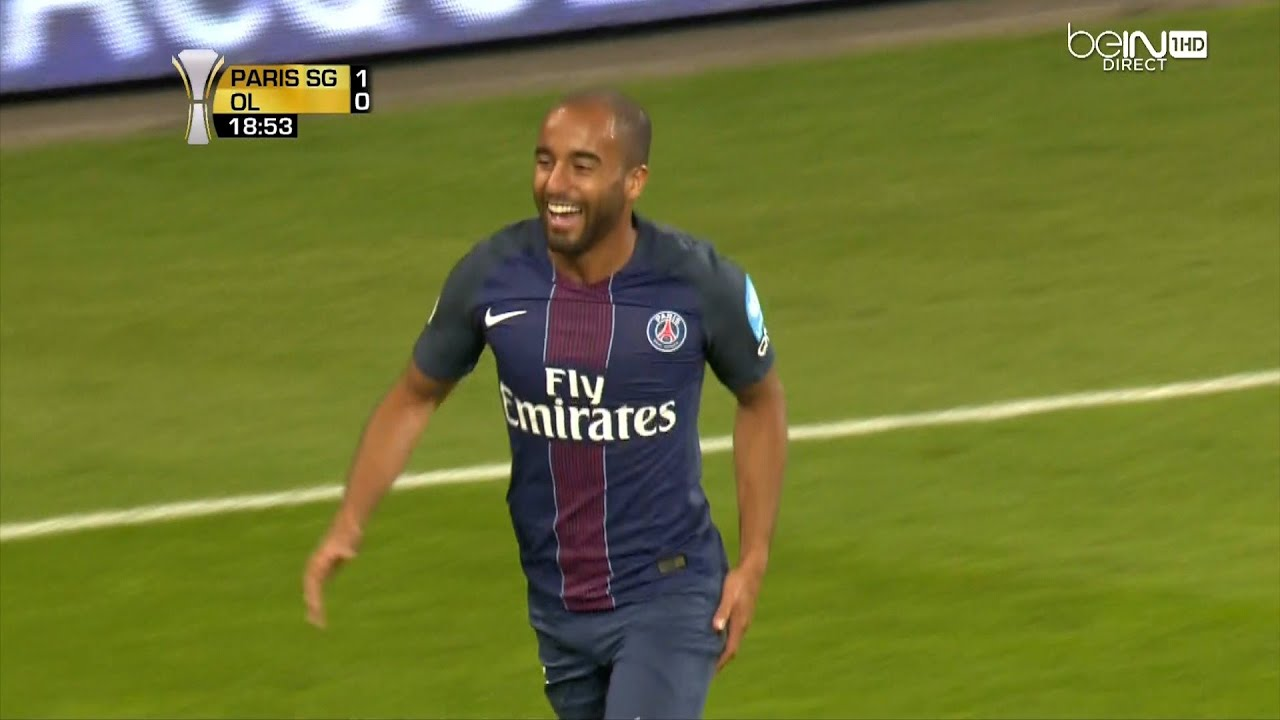 Lucas Moura vs Lyon 06 08 16 HD 1080i by Yan