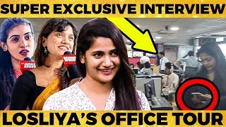 Losliya-ஓட உண்மை முகமே இதான்.. - Losliya's Srilankan Friends Breaks New Secrets! LIVE from Srilanka
