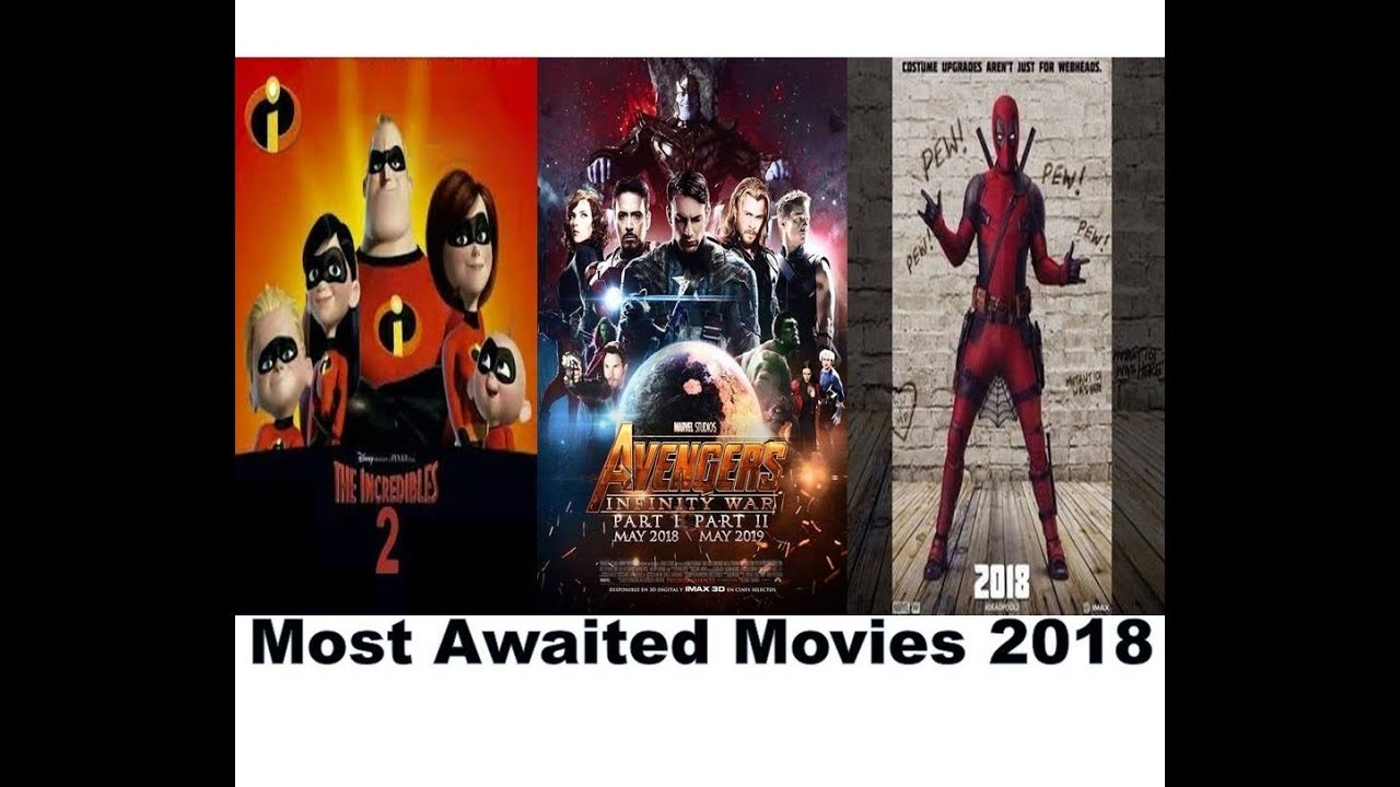 Top 15 Most Awaited Hollywood Movies 2018 | Avengers: Infinity War (2018) |  Deadpool 2