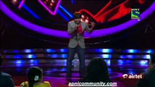 Amit Kumar (Indian Idol 6) - Hamka Peeni Hai.avi