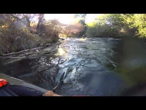 Kayaking Putah Creek California